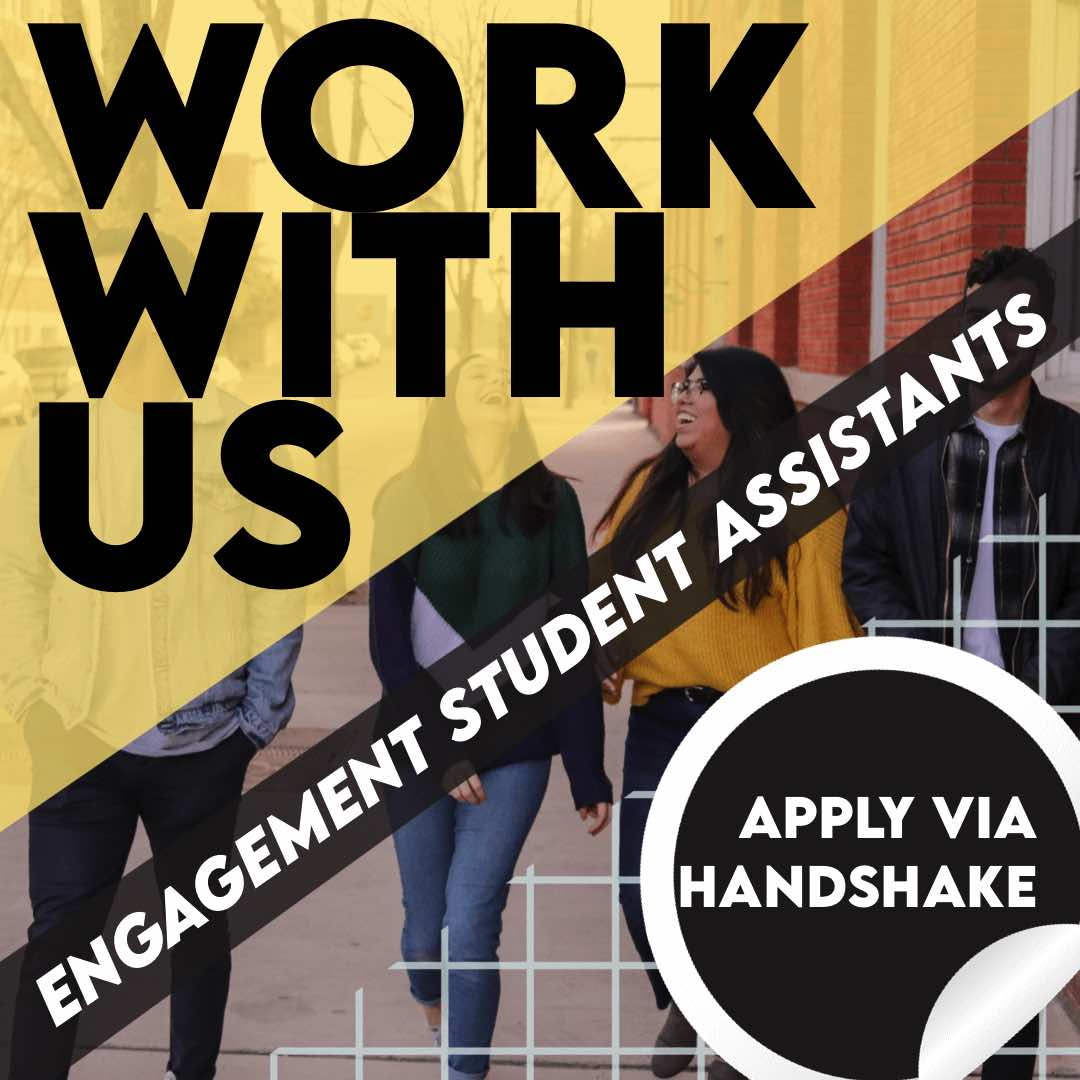 Become a Housing and Residence Life Engagement Student Assistant today!