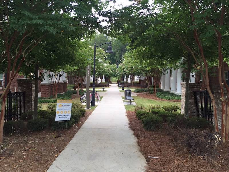 University Columns first-year housing on the Marietta Campus